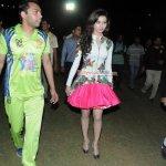 Urvashi Rautela, Evelyn Sharma, Mahakshay Chakraborty at the 'Twister Mitsui Shoji T-20 League Season-5'