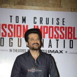 Anil Kapoor and Parineeti Chopra at the screening of Hollywood film 'Mission: Impossible - Rogue Nation'