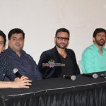Saif Ali Khan and Kabir Khan at the Press conference of 'Phantom'