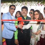 Madhur Bhandarkar & Producer Sangeeta Ahir along with Calendar Girls were snapped at the opening of a new outlet of Shiva's Salon