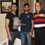 Vedita Pratap Singh, Jassi Kaur, Govind Namdeo at film 'JD' song shoot sets