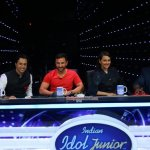 Saif Ali Khan, Katrina Kaif, Sonakshi Sinha at 'Phantom' Promotions on Indian Idol Junior Sets
