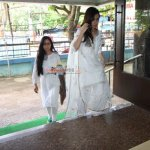 Bollywood Celebs at prayer meet of Shraddha Kapoor's maternal grand father