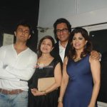 Music Industry Celebs at Talat Aziz's musical show Yeh Shaam Mastani