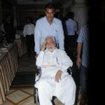 Kader Khan, Om Puri at the trailer launch of film 'Hogaya Dimaagh Ka Dahi'