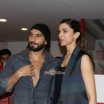 Ranveer Singh and Deepika Padukone promote film 'Bajirao Mastani' on Red FM