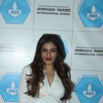 Raveena Tandon inaugurates Jamnabai Narsee International School's Indoor Sports Hall