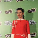 Karisma Kapoor during the promotion of McCain Foods products