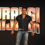 Salman Khan with music director Pritam and singer Mika Singh launches Eid Special song of film 'Bajrangi Bhaijaan'