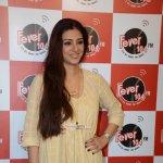 Ajay Devgn & Tabu at Fever 104 FM Studio to Promote 'Drishyam'