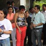 Mandira Bedi flags off the Street Smart-Street Safe Women Safety drive in Mumbai