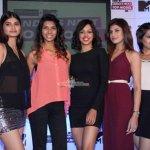 Lisa Haydon, Anusha Dandekar, Grooming expert Neeraj Gaba and Fashion photographer Dabboo Ratnani at the Launch of MTV's New Show