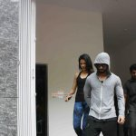 Shahid Kapoor with his wife Mira Rajput spotted outside a gymnasium