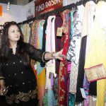 Designer Rohit Verma and actress Poonam Dhillon Exhibiting their Collection