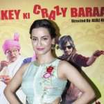 Tia Bajpai, Satyajeet Dubey, Vijay Raaz, Rajpal Yadav, Rakesh Bedi at film 'Baankey Ki Crazy Baraat' Press Meet