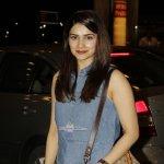 Actress Prachi Desai spotted at Mumbai International Airport