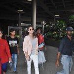 Bolly Celebs snapped on arrival from Dubai's Arab Indo Bollywood Awards