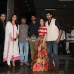 Prabhas, Rana Daggubati, Anushka Shetty, Tamannaah Bhatia, Karan Johar at the Trailer Launch of 'Baahubali'
