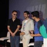 Amitabh Bachchan, Farhan Akhtar, Vidhu Vinod Chopra, Bejoy Nambiar at film 'Wazir' Teaser Trailer Launch