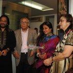 Amisha Patel, Singers Roop Kumar Rathod, Sonali Rathod at the Inauguration of a Group Art Exhibition