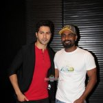 Varun Dhawan & Remo D'Souza at the launch of song 'Chunar' from film 'ABCD 2'