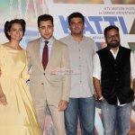Imran Khan, Kangana Ranaut, Nikhil Advani and Siddharth Roy Kapur at the Trailer Launch of Film 'Katti Batti'