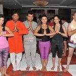 Bollywood Celebs Perform Yoga on International Yoga Day in Mumbai