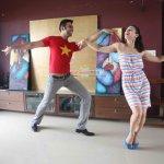Amisha Patel learns Western Dance from Sandip Soparrkar in Mumbai