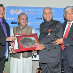 Highest French Distinction 'Officer of the Legion of Honour' conferred on Mr. Yashwant Sinha in the presence of Actor-Politician Shatrughan Sinha, Ramesh Sippy,Pritish Nandy, Pahlaj Nihalani