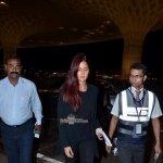 Katrina Kaif and Priyanka Chopra Snapped at the Mumbai International Airport