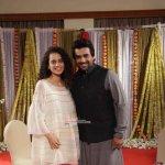 Kangana Ranaut and R. Madhavan at film 'Tanu Weds Manu Returns' press meet in Mumbai