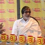 Amitabh Bachchan promotes film 'Piku' at 98.3 Radio Mirchi FM Studios