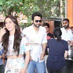 Jackky Bhagnani & Lauren Gottlieb Promoting Film 'Welcome 2 Karachi'