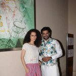 Kangana Ranaut and R. Madhavan Snapped at film 'Tanu Weds Manu Returns' Media Interviews in Mumbai