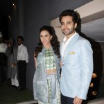 Jackky Bhagnani and Lauren Gottlieb at film 'Welcome 2 Karachi' music launch