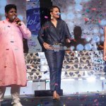 Sonakshi Sinha, Shalmali Kholgade, Vishal Dadlani at Indian Idol Junior 2 launch press meet