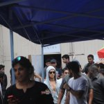 Tiger Shroff snapped on the sets of film 'Baaghi' at Mehboob Studios in Mumbai