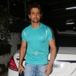 Hrithik Roshan Snapped at Screening of film 'Welcome 2 Karachi' in Mumbai
