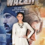Farhan Akhtar, Neil Nitin Mukesh, Aditi Rao Hydari at film 'Wazir' Trailer Launch