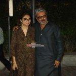 Ranveer Singh and Deepika Padukone at film 'Bajirao Mastani' Trailer Launch