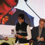 Amitabh Bachchan at the launch of campaign on Hepatitis-B
