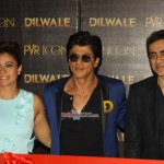 'Dilwale' Star Cast at the launch of song 'Manma Emotion  Jaage Re'
