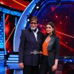 Ranveer Singh promotes 'Bajirao Mastani' with Malhari song launch and Parineeti Chopra dances on Amitabh Bachchan's show Aaj Ki Raat Hai Zindagi