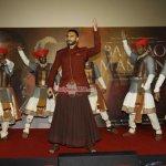 Ranveer Singh with Priyanka Chopra & Amruta Khanvilkar at celebration of 'Bajirao Mastani' Music