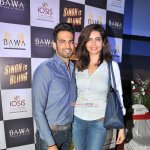 Akshay Kumar and Amy Jackson at special screening of their film 'Singh is Bliing'