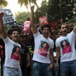 Mohabbat Mukti Morcha with the Star Cast of Film 'Pyaar Ka Punchnama 2'