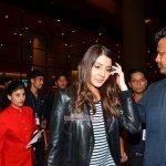 Anushka Sharma snapped on arrival at Mumbai International Airport