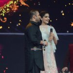 Salman Khan and Sonam Kapoor at Life OK Channel Diwali special shoot