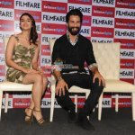 Alia Bhatt and Shahid Kapoor at latest FILMFARE Magazine cover launch