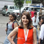 Soha Ali Khan at the unveiling of eco-friendly 'Green Painting Service' by Asian Paints